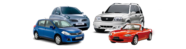 Rental Car fleet examples
